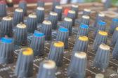 Audio de matériel vieux boutons — Photo