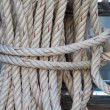 Stock Photo: Close up on Mooring Rope
