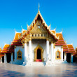 Wat Benchamabopit Dusitwanaram, The most famous temple of Thaila — Stock Photo