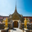 Wat phra kaew blue sky without cloud in Thailand — Stock Photo