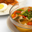 Stock Photo: VegetariThai Food mushroom tom yum soup