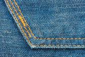 Sfondo blu Denim Jean Texture — Foto Stock