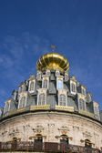 Monastery in Russia New Jerusalem, cathedral dome — Foto de Stock