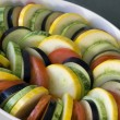 Raw ratatouille — Foto Stock
