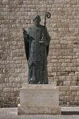 Statue of St. Nicholas in Bari, Italy — Stock Photo
