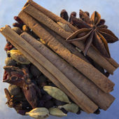 Set of spices for mulled wine — Foto Stock