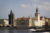 Architecture of the old town in Prague — Stock Photo