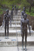 The Memorial to the victims of Communism. Sculptor Olbram Zoubek — Stock Photo
