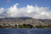 Issyk-kul sjön i kirgizistan — Stockfoto