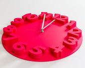 Five minutes to midnight clock — Foto de Stock