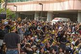 Taipei, Taiwán, 30 de marzo de 2014. cientos de miles de personas p — Foto de Stock