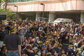 Taipei, taiwan, mars 30 2014. hundratusentals människor p — Stockfoto