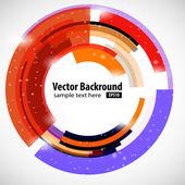 Abstract modern technology circle — Stock Photo
