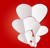 дубултском день белой книге сердца — Cтоковый вектор