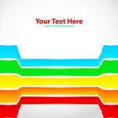 Rainbow lines — Stock Vector