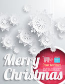 Merry Christmas Background — ストックベクタ
