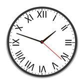 Old vintage clock — Stock Vector