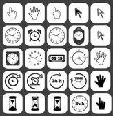 Icon set — Vector de stock