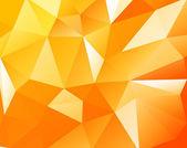 三角形の背景 — ストックベクタ