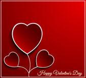 Valentine day flower heart — Stock Vector