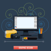 Web design concept — Stock Vector