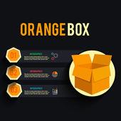 Carton box — Stock Vector