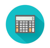 Calculator icon. Business concept with mathematics — Stockvector