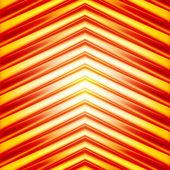 Hi tech abstract arrow background — Stock Vector