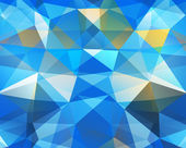Triangle background. Pattern of geometric shapes — Vector de stock