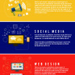 Icons for web design, seo, social media — Stock Vector #50401433
