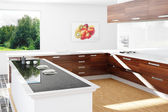 Kitchen in the sun — Stock Photo