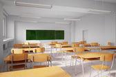 Old school classroom — Stock Photo