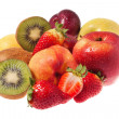 Bunch of fruits — Stock Photo