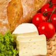 Foto de Stock  : Snack with cheese