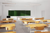 Old classroom — Stock Photo