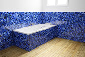 Açısal görüş boş banyo — Stok fotoğraf