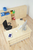 Modern office top view — Foto Stock
