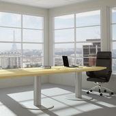 Modern urban office room — Stock Photo