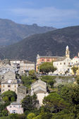 Nonza on the island of Corsica, France — Stock Photo