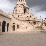 Budapešť hradní věže — Stock fotografie #47163675