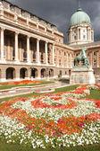 Budapest Castle — Stock Photo