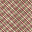Green Red And White Plaid Fabric Background — Stock Photo #26819419
