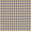 Yellow White Blue Plaid Fabric Background — Stock Photo