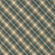Green and Gray Diagonal Plaid Textile Cloth Background — Stock Photo