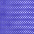 White Polka Dots On Blue Textile Fabric Background — Stock Photo #26847783