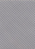 Blue and Gray Plaid diagonal Textile Fabric Background — Photo