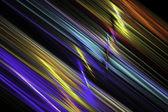 デジタル抽象的なフラクタル ストライプ コンピューター生成画像 — ストック写真