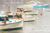 Lobster Boats In Bass Harbor Mount Desert Island Maine — Stock Photo