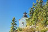 Bass Harbor Lighthouse Mount Desert Island Maine — Stock Photo