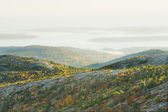 Cadillac Mountain Acadia National Park Autumn — Stock Photo